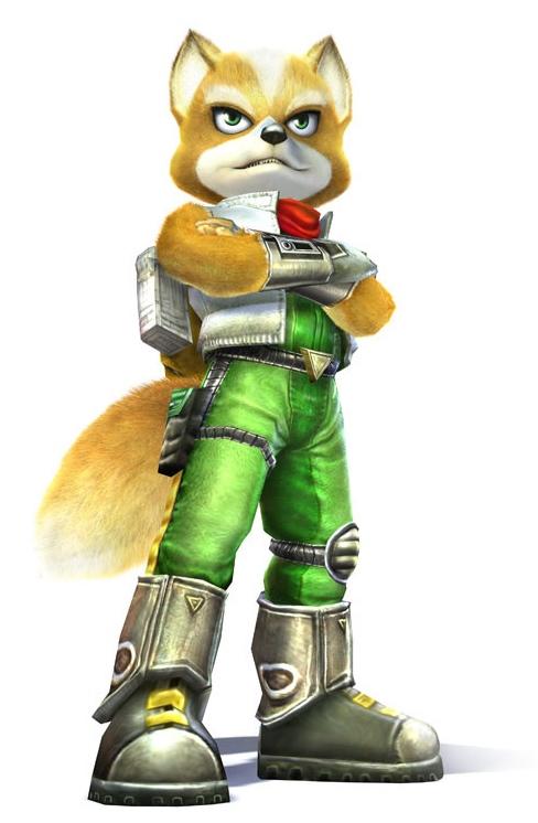 Fox McCloud dans StarFox Adventures