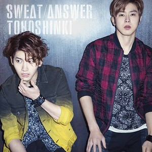 TVXQ जैकेट चित्रो for new Japanese single 'Sweat/Answer'