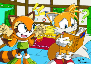 Tails and Marine