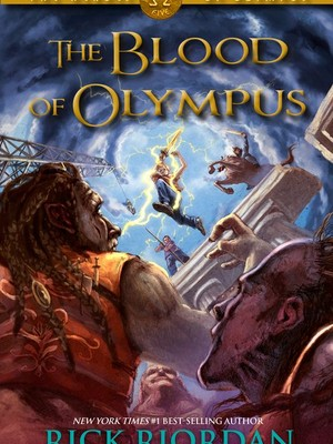 The Blood Of Olympus OFFICIAL COVER