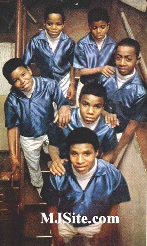 The Jackson 5 Backstage At The Regal Theatre