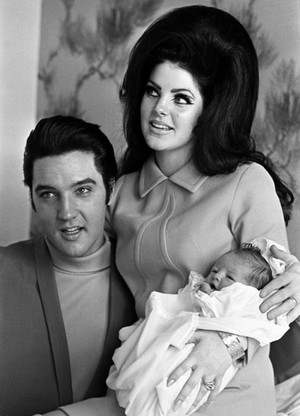 The Presley Family Back In 1968