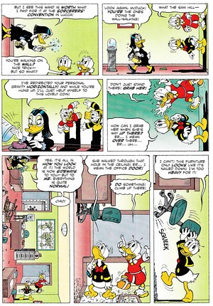 Walt ディズニー Comics - Scrooge McDuck: A Matter of Some Gravity