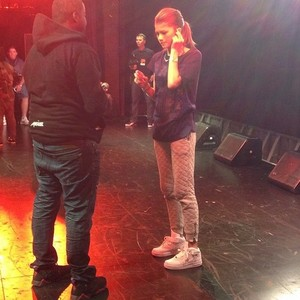 Zendaya at the Best Buy Theater NYC Back Stage !