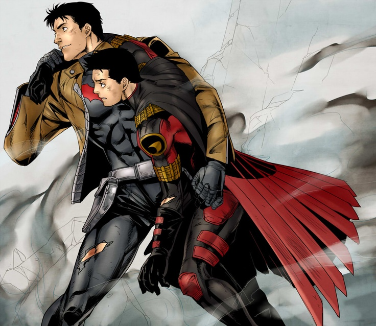 tim drake jason todd brotherhood