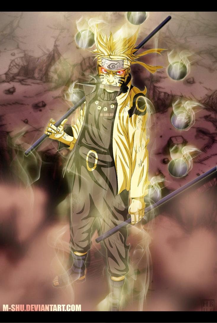 Naruto Shippuden Sage Of Six Paths Wallpaper