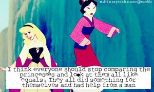 ALL the Disney Princesses had help from a man!