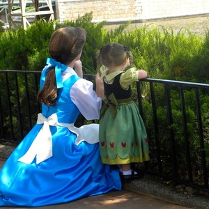 Belle and little Anna