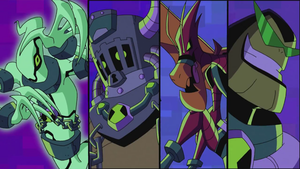 Ben 10 Galactic Monsters