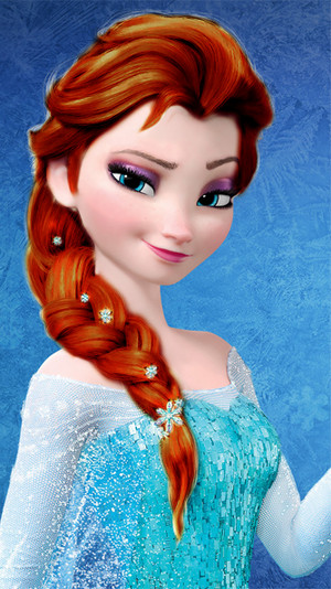 Elsa - Red/Brown Hair Color
