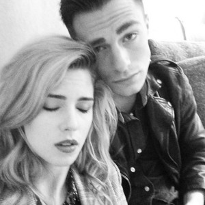 Emily and Colton in लंडन