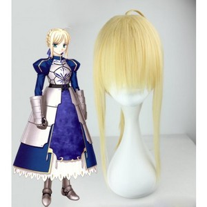 Fate/Zero Saber cosplay wig