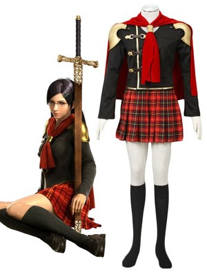Final Fantasy type-0 Queen cosplay costume