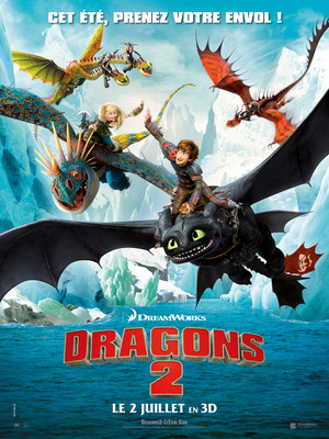 How to Train your Dragon 2 - poster