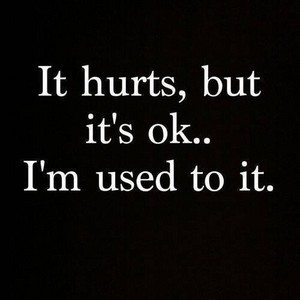 It Hurts,but