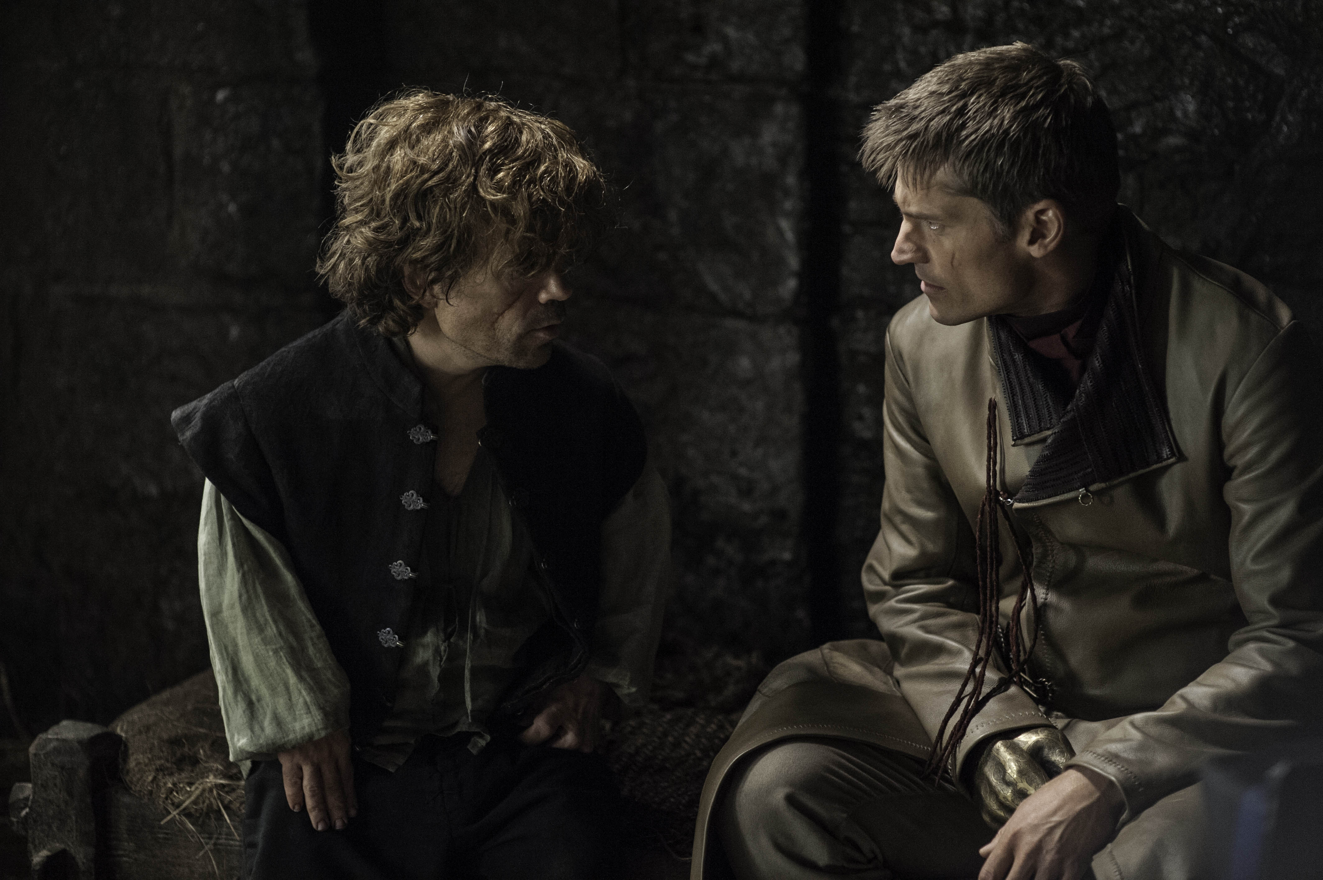 Jaime and Tyrion Lannister