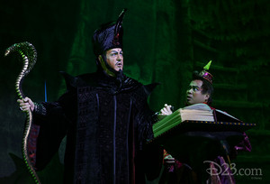 Jonathan Freeman as Jafar on Broadway
