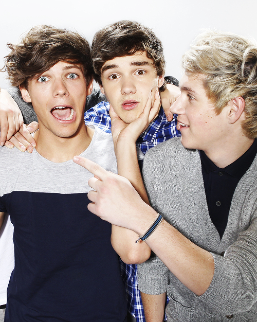 Louis, Liam and Niall