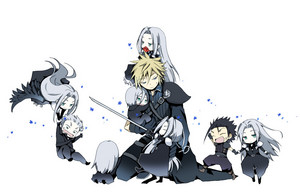 Sephiroth and Crew