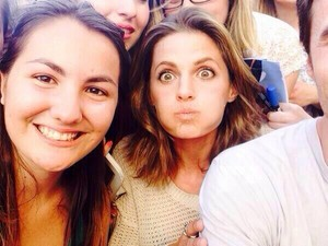 Stana and fans(June,2014)