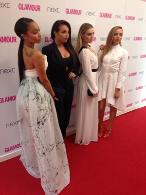 The girls at the Glamour Awards