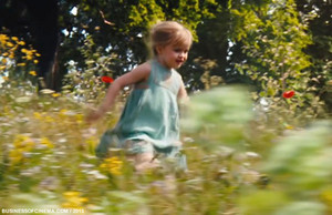 Vivenne Jolie Pitt as young Aurora in Maleficent