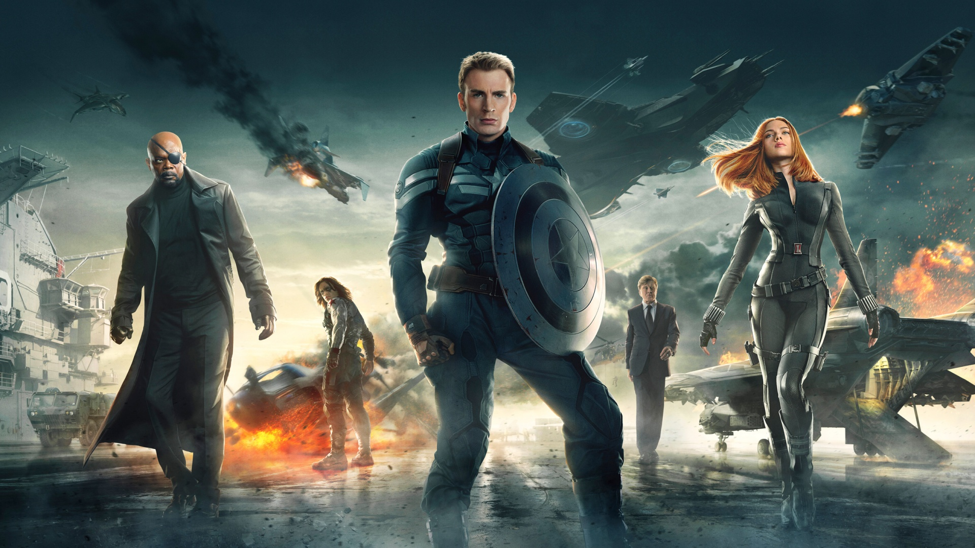 Captain America Winter Soldier Marvel Live Action Movies