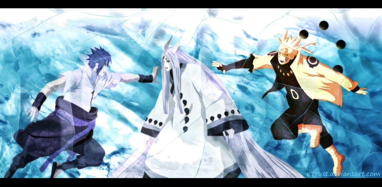 Kaguya V S Naruto Sasuke uzumaki naruto shippuuden 37256623 1276 626