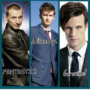 9th 10th and 11th doctors