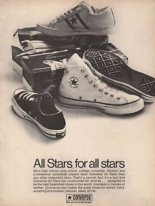 A Vintage Promo Ad For Converse All-Stars