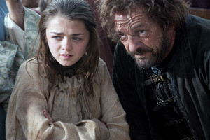 Arya Stark and Yoren Season 1