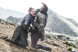 Brienne of Tarth vs The Hound (Season 4)