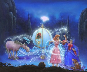 "disney Fine Art: ""Dreams come true"" oleh James C. Mulligan:)"