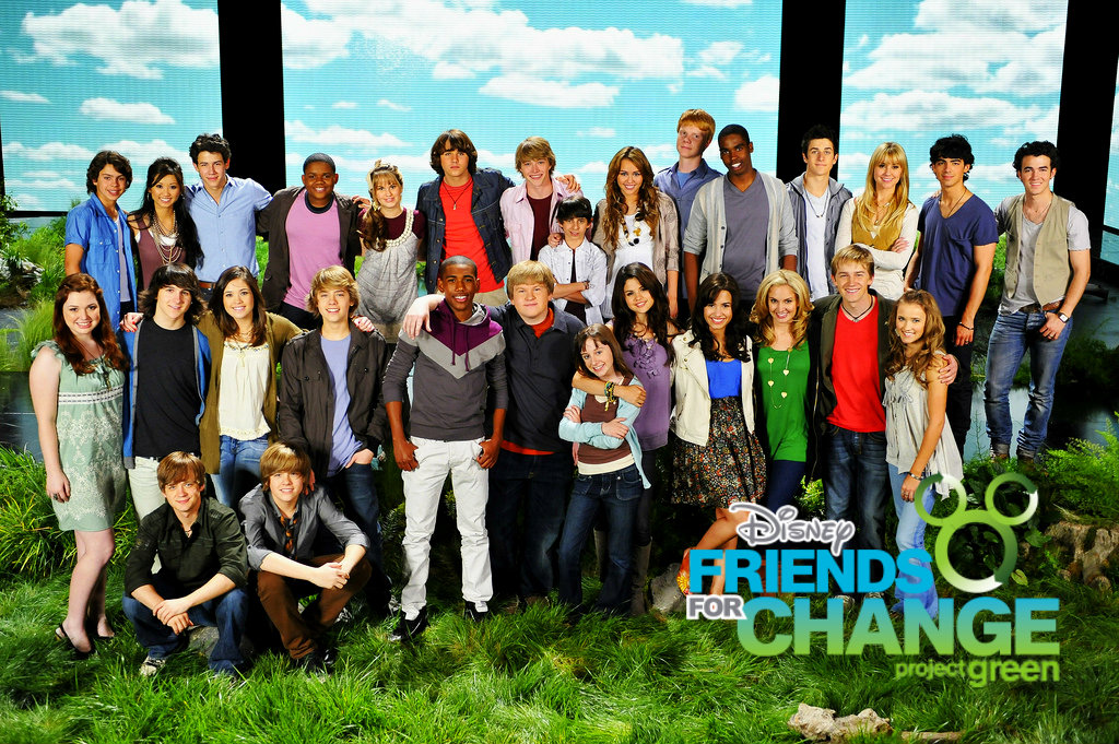 Disney's Friends for Change Project Green