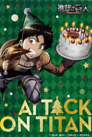 Eren Yeager and birthday cake!