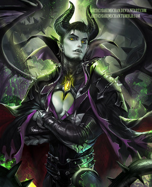 Genderbend Maleficent