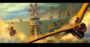 HTTYD 2 - the Wind Mill