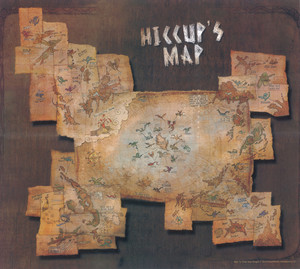 Hiccup's map