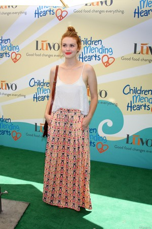 "Holland at Children Mending Hearts' 6th Annual Fundraiser ""Empathy Rocks:A Spring Into Summer Bash''"