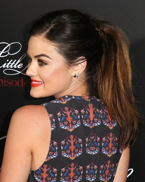 Lucy @ the Pretty Little Liars 100th Episode Celebration - May 31st