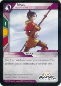 Malu (Cards Only Airbender)