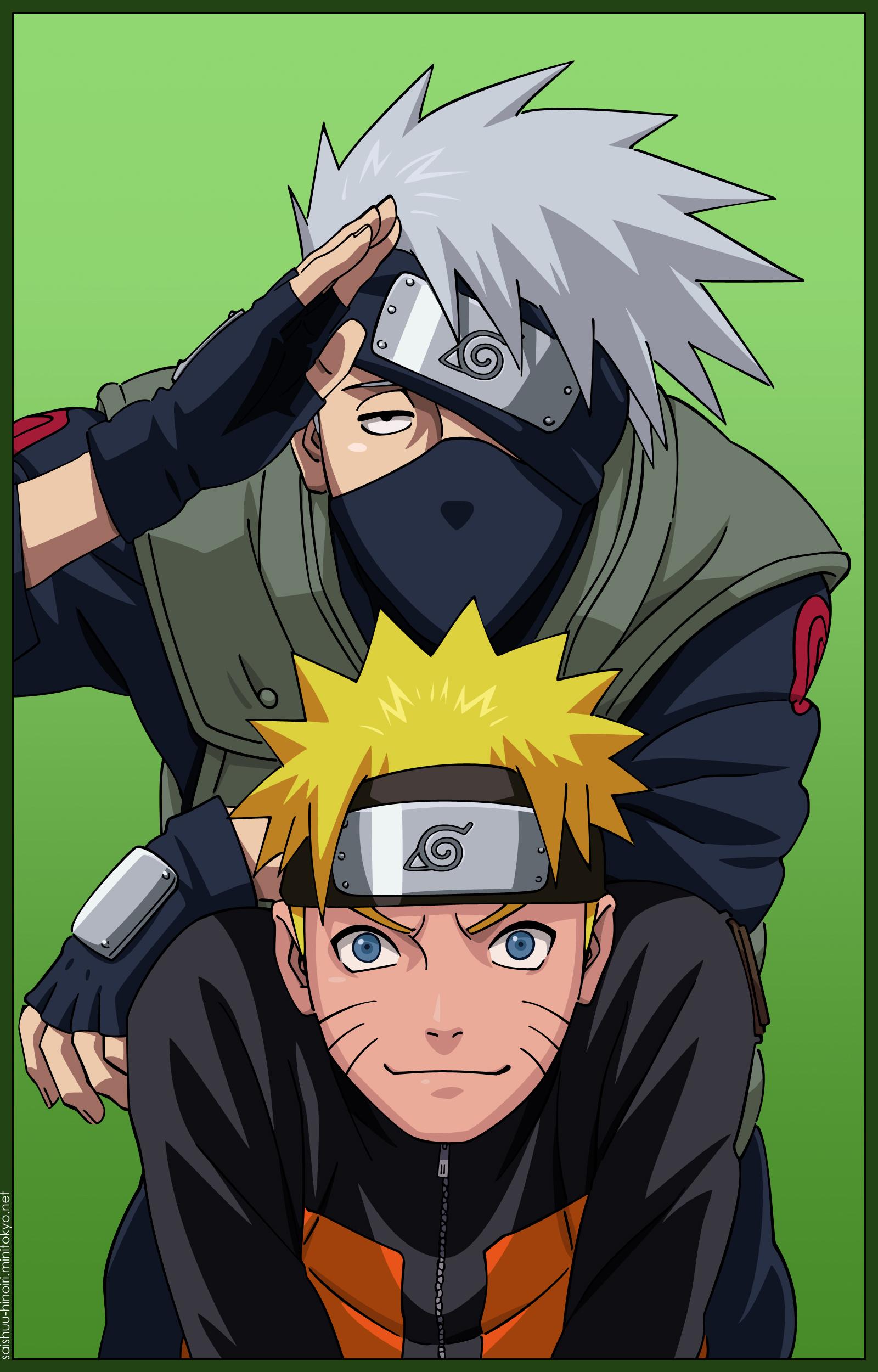 Naruto and kakashi hatake - Stella2015 Photo (37299382 ...