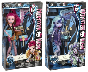 New dolls in boxes