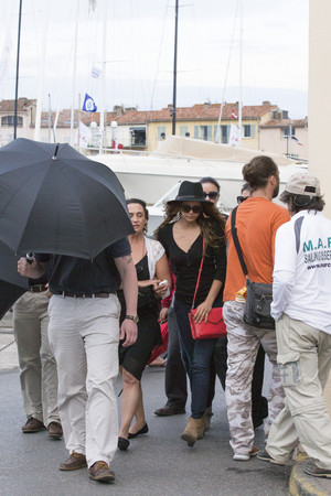 Nina out in St. Tropez - June 15th