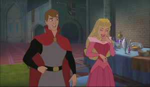Phillip and Aurora in Enchanted Tales