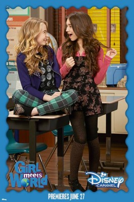 Riley and mya girl meets world