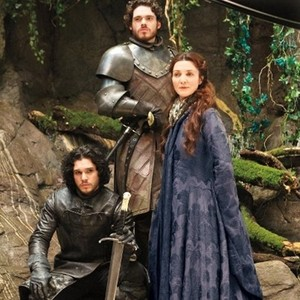 Robb Stark, Catelyn and Jon Snow