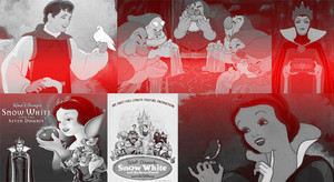Snow White and the 7 Dwarfs Collage