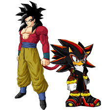 Super Saiyan 4 Goku And Super Hedgehog 4 Shadow Shadow The