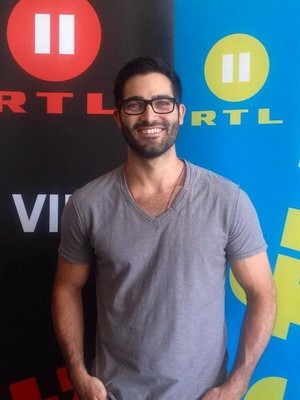 Tyler Hoechlin at Alpha Con 2014